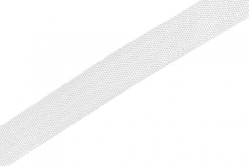 Gurtband - Panamabindung - 4 cm - Meterware Weiß