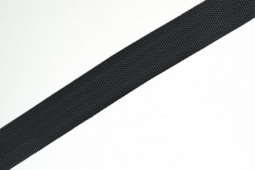 Gurtband - Panamabindung - 4 cm - Meterware Anthrazitblau