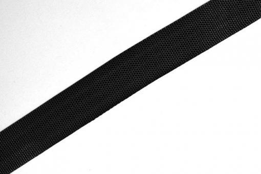 Gurtband - Panamabindung - 4 cm - Meterware Schwarz