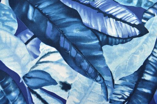 Outdoor- und Markisenstoff - Amazonas Blau
