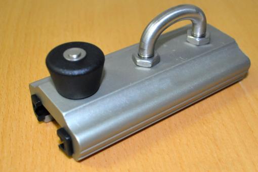"""Aluminium-Rutscher für """"T""""-Schiene Größe 3"""