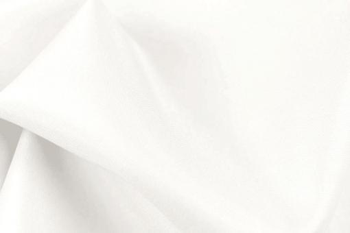 Segeltuch light - extrem wasserabweisend - Uni Weiß