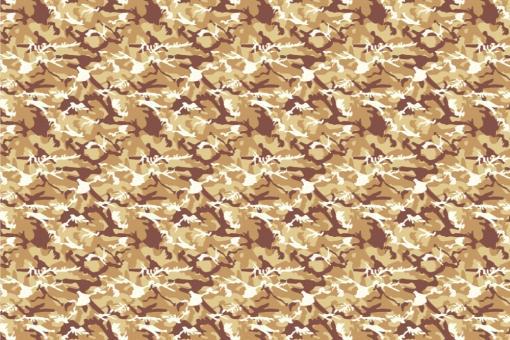 Türvorhang-Stoff - Camouflage Wüste