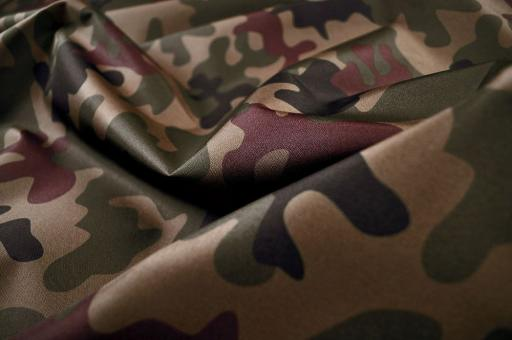 Polyester reißfest - Camouflage Waldtarn
